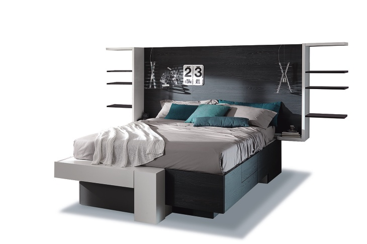 Letto Con Cassetti ~ idee di design per la casa