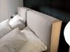 letto imbottito con cuscini