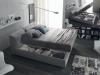 ennerev, il letto tribeca a contenitore