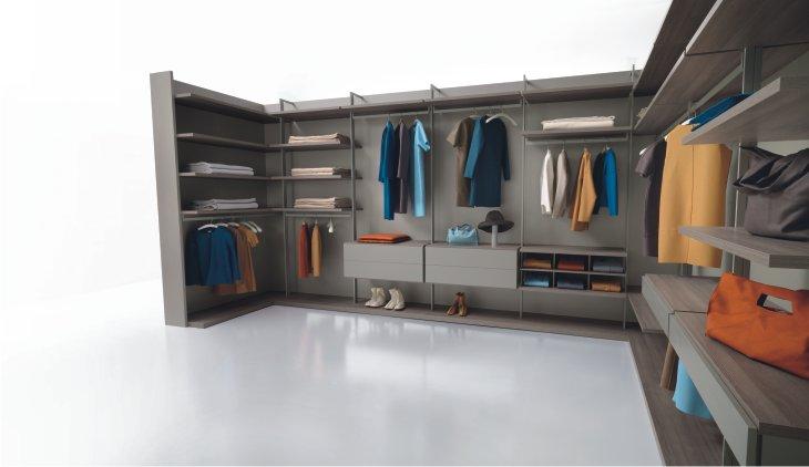 La cabina armadio su misura