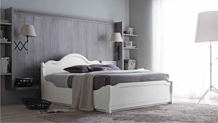 letto classico in vero legno