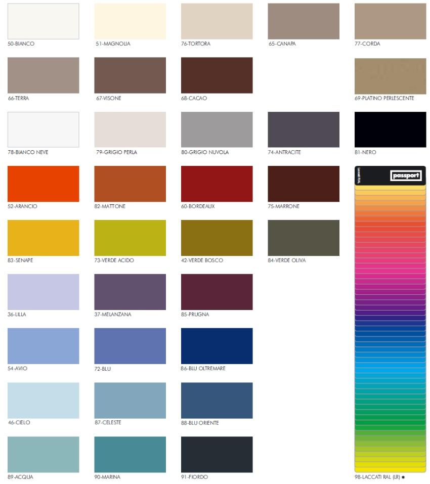 colori laccati