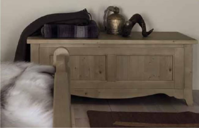 cassapanca in vero legno