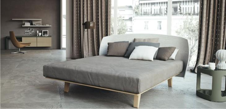 letto in legno moderno by caccaro