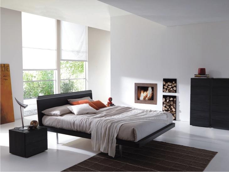 Letto moderno in legno letto moderno imbottito top lops dedalo