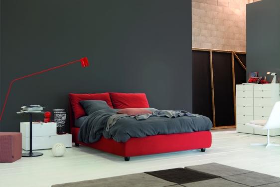 letto blanca rosso