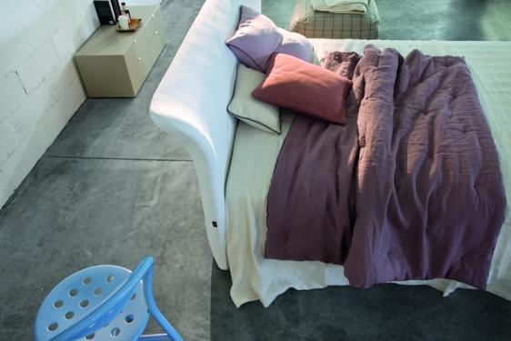 testiera del letto in tessuto twils