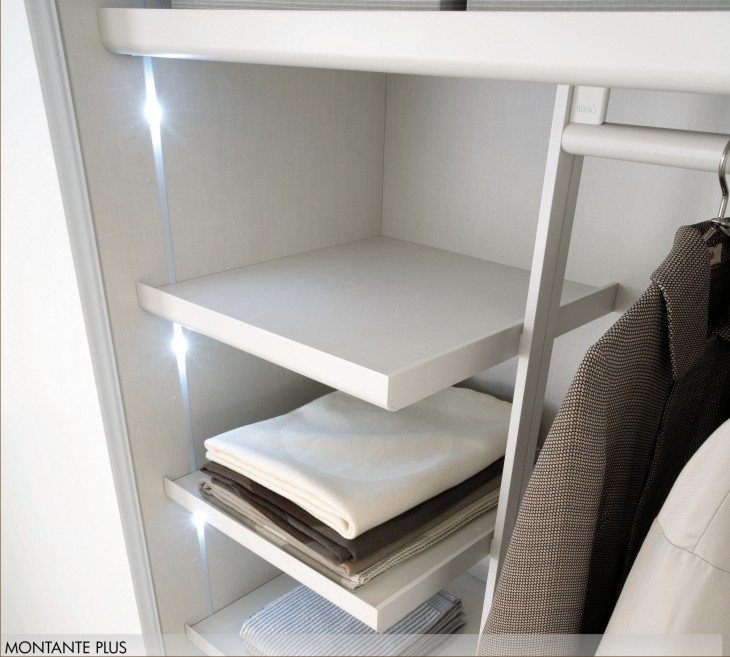 Ripiani interni nell 39 armadio - Letto incassato nell armadio ...