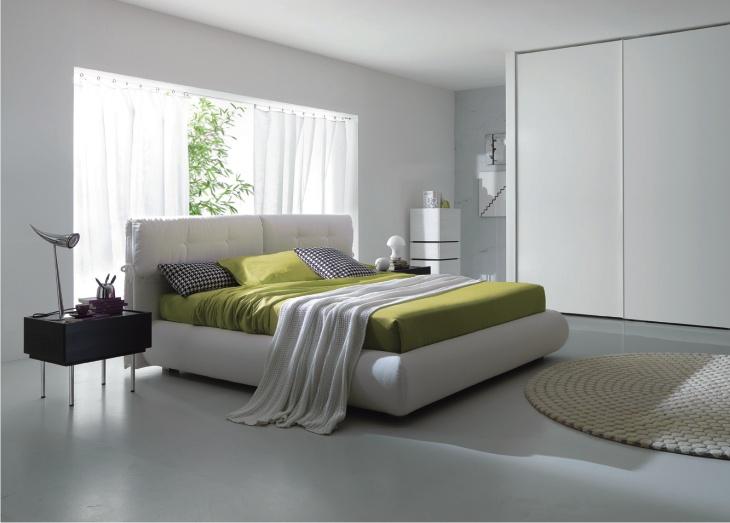 il letto con il fiocco
