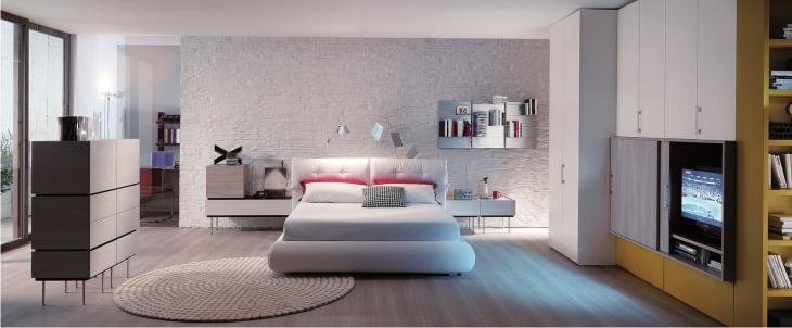 Arredo di design moderno per la camera