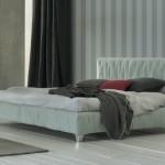 Letto Margot: imbottitura soft e design semplice
